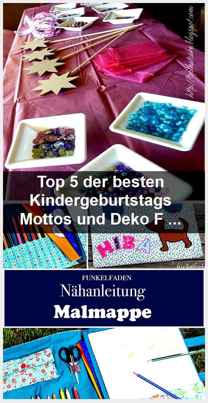 Top 5 der besten Kindergeburtstags Mottos und Deko Faschingskostüme Ideen - Bastelideen Kinde... T