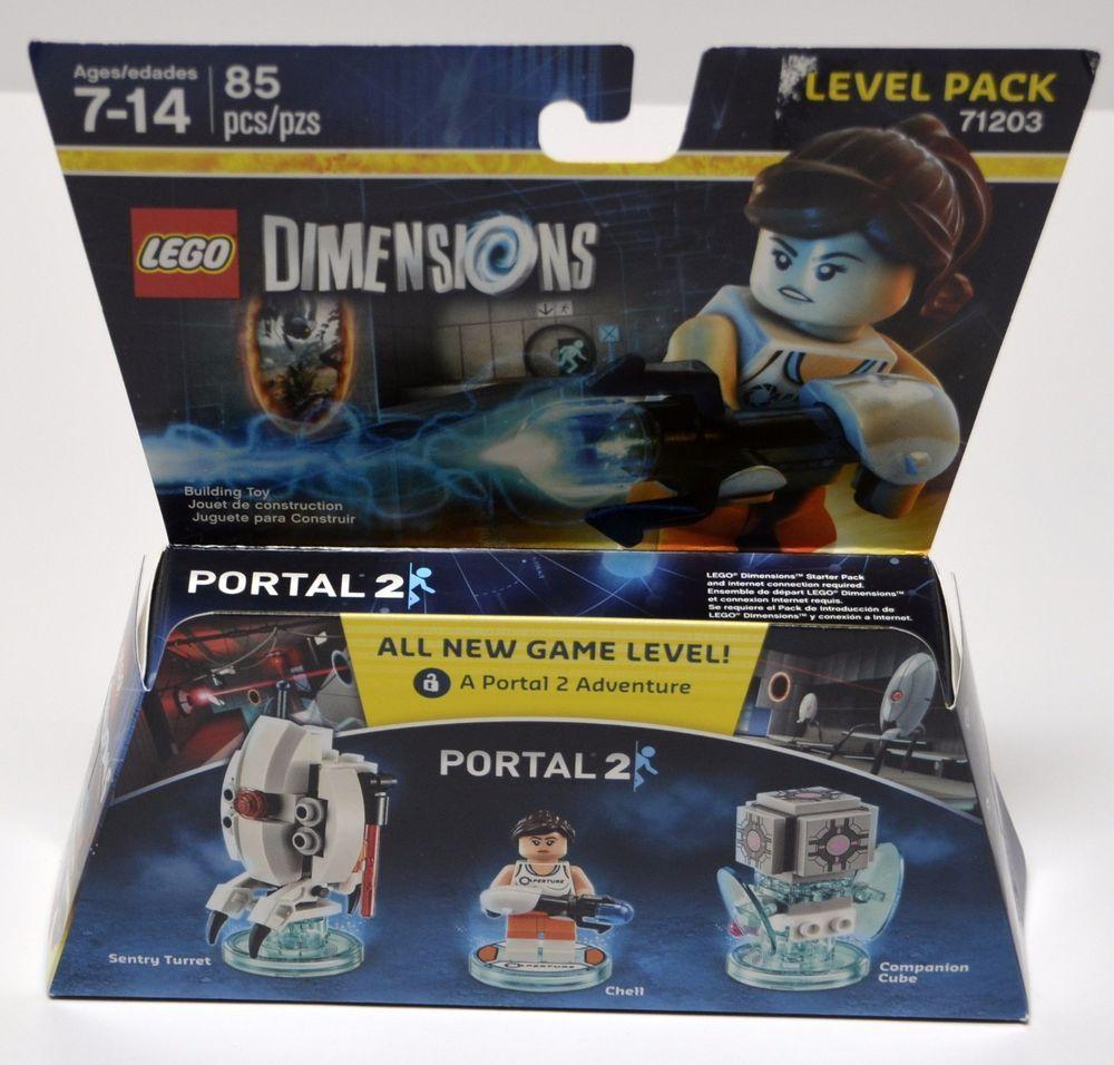 Lego Dimensions 71203 Portals 2 Chell