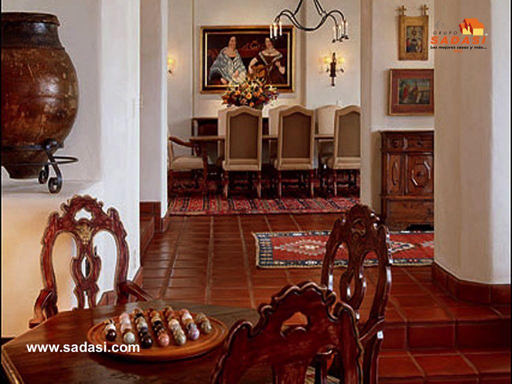 Grupo sadasi le habla de la decoraci n al estilo colonial for Muebles rusticos mexicanos