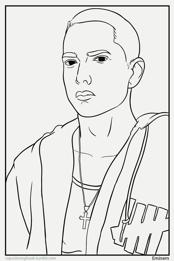 eminem coloring pages - photo#5