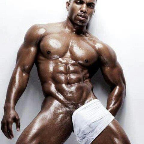 black sexy guy