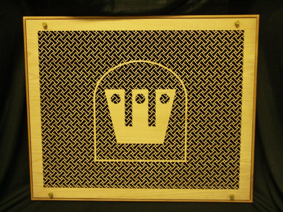 Custom logo vent cover grilles - anything is possible!