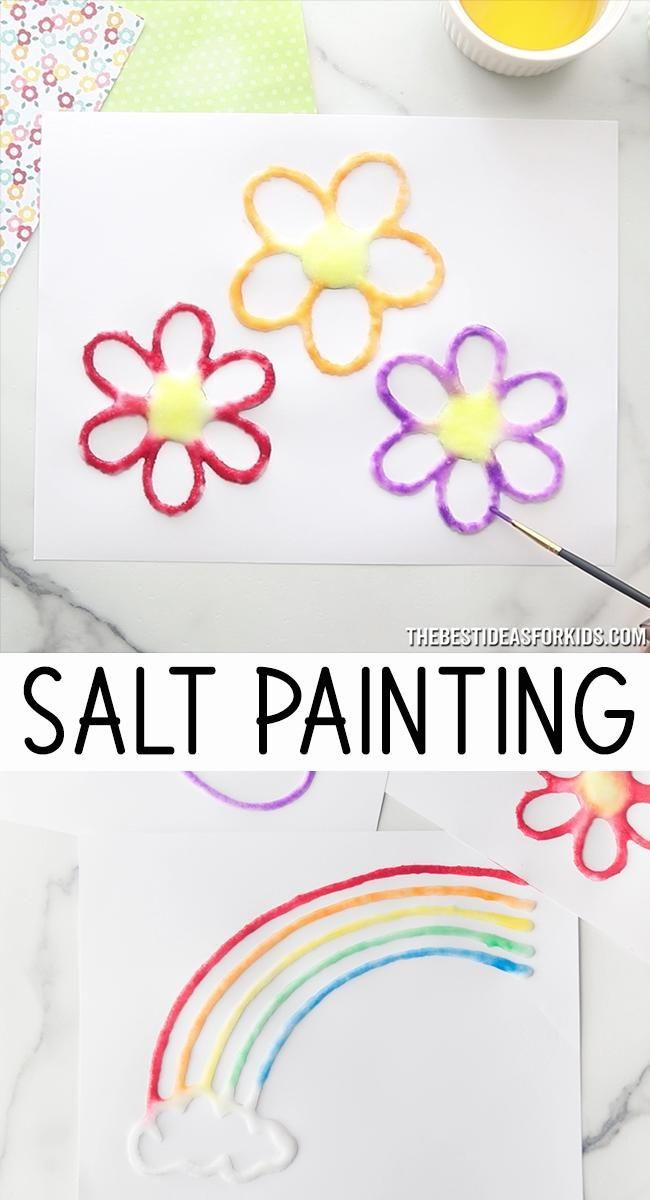 Photo of Salt Painting – Welcome to Blog