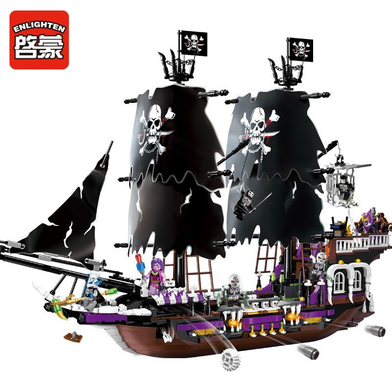 Model building kits compatible with lego Caribbean Black general ...