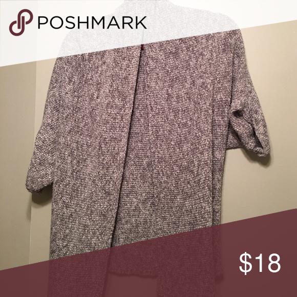 Sonoma grey and white cardigan Grey/ white stitch cardigan Sonoma Sweaters Cardigans
