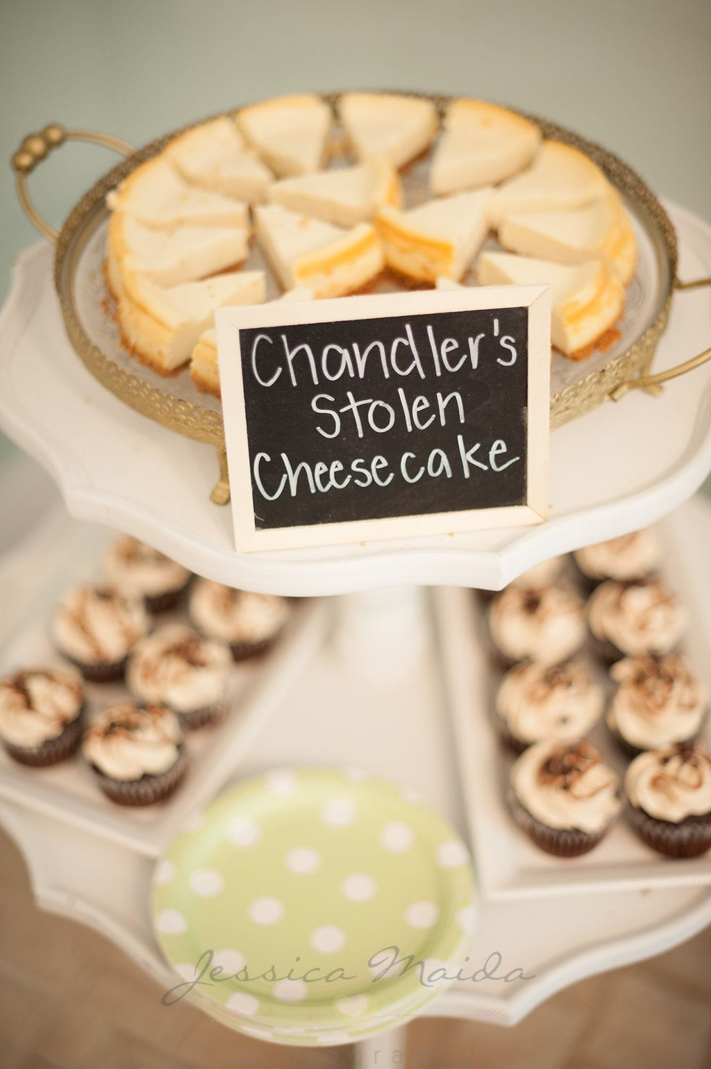 f4b57285de4 A perfect theme even down to the snacks! FRIENDS themed bridal shower - a  90 s girl dream! Check out the details from themed foods to a trivia game  from ...