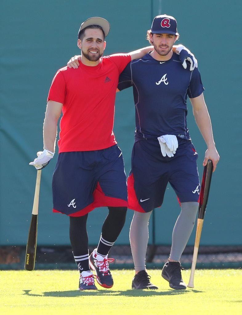 meet 94b85 31dbf Ender Inciarte and Dansby Swanson 😍 | Atlanta Braves ...