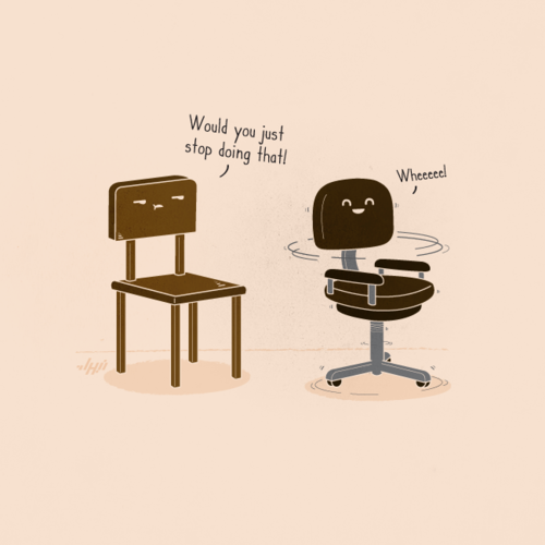 Chair Wheee Nabhanabdullatif Funny Illustration Funny Drawings Funny Doodles