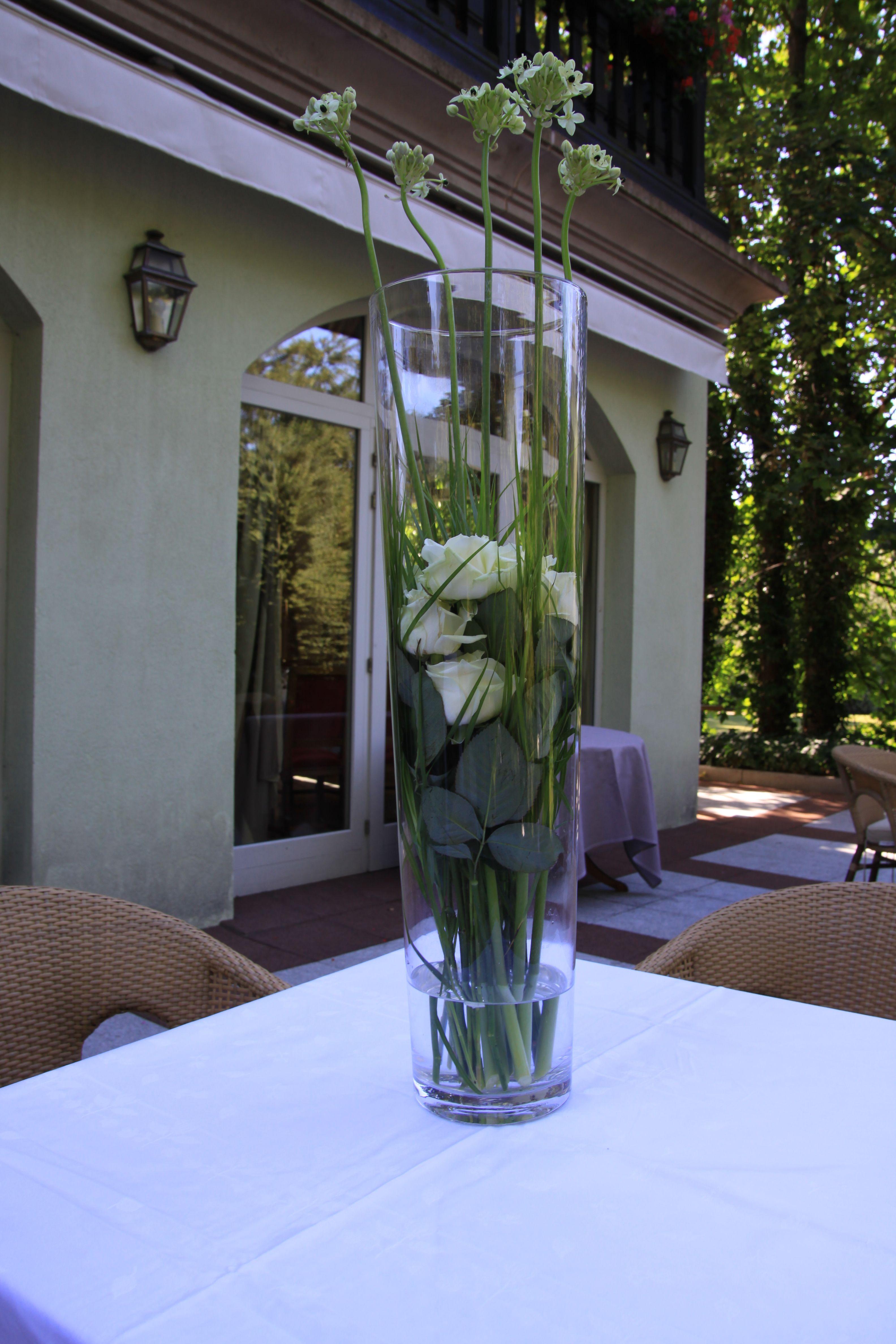 Grand Vase Verre Decoration Dinterieur