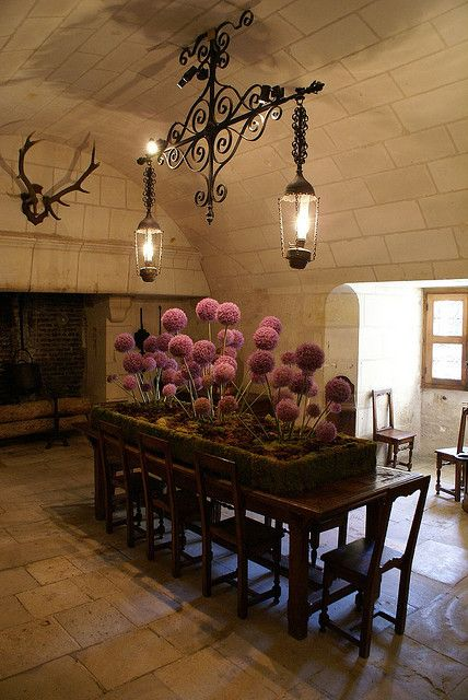 Servants Dining Hall, Chateau Chenonceau | enchanting house. tracy ...