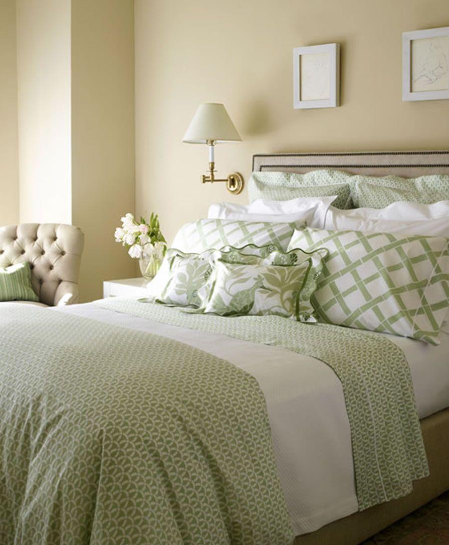 Luxury Chic Bedding Home Interior Bedroom Design Ideas