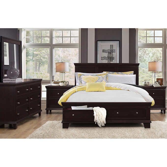 Alton 5 Piece King Storage Bedroom Collection Bedroom