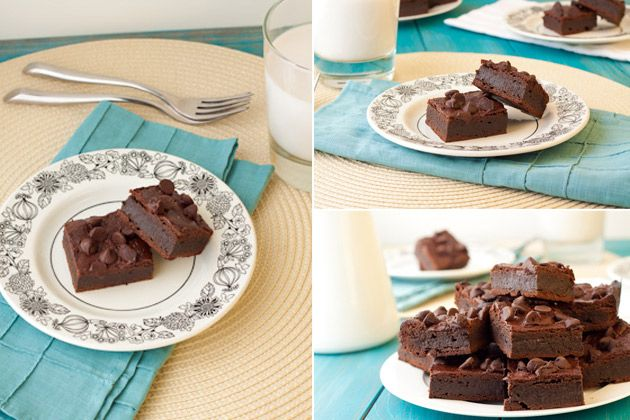 fudge brownies - vegan, gluten-free, grain-free, nut-free