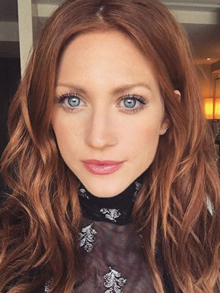Brittany Snow: Brittany Snow Cleared Her Chronic Rosacea Using These 5 Products.  Learn how to get cle...