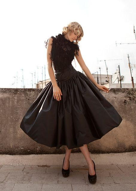 Ceec Design Fashion Blog Inspiration Edited by Jamie Koustas: October 2012 >> This dress would make me want to swirl endlessly!