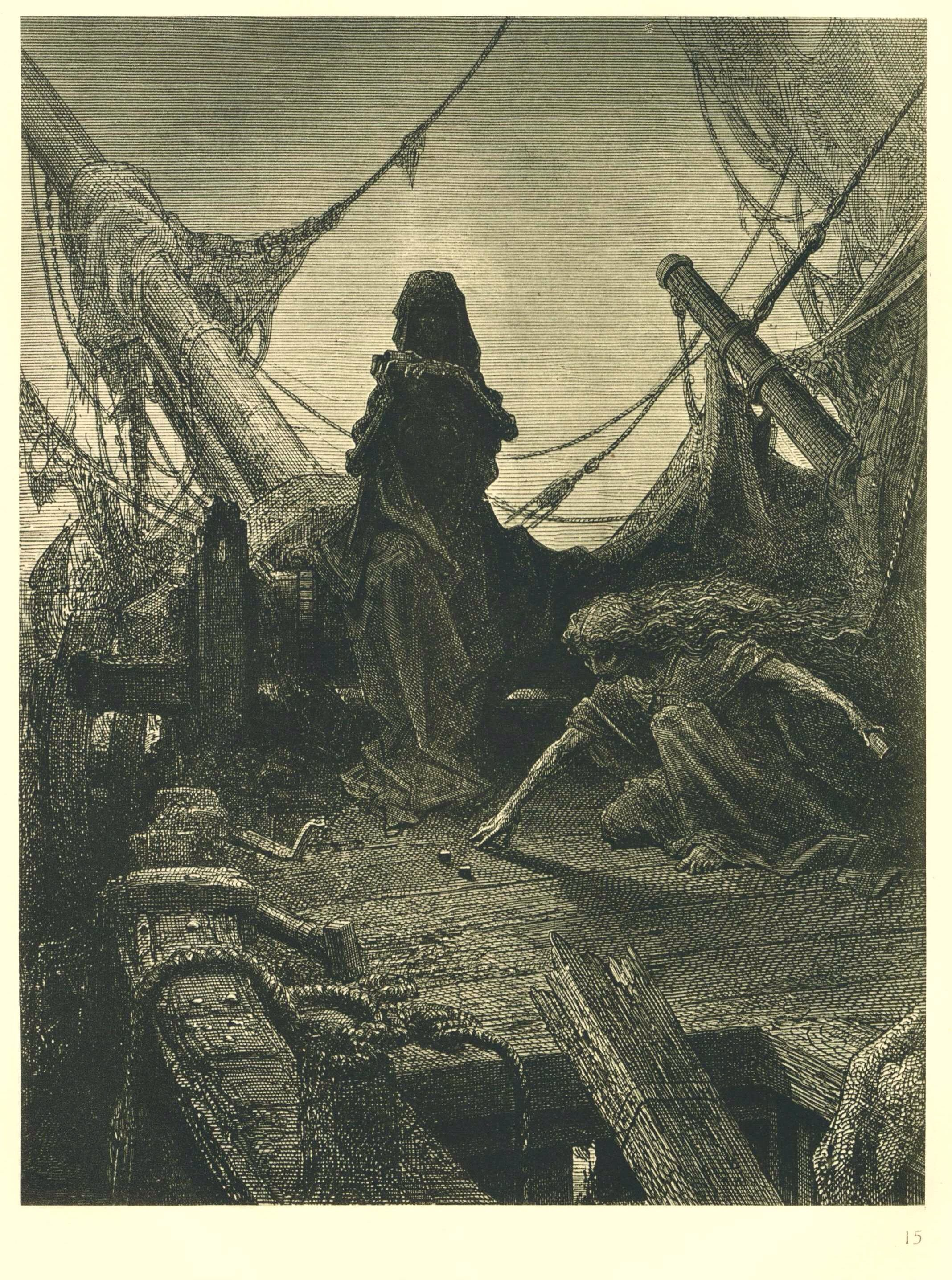 Game with death illustration for the rime of the ancient mariner game with death illustration for the rime of the ancient mariner 1866 biocorpaavc Images