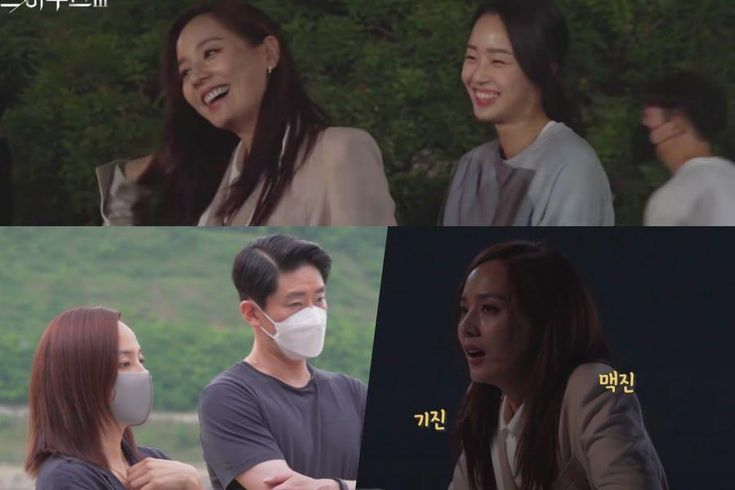 """Watch: Eugene, Uhm Ki Joon, And Choi Ye Bin Are Both Courageous And Fearful While Filming Cliff Scene For """"The Penthouse 3"""""""