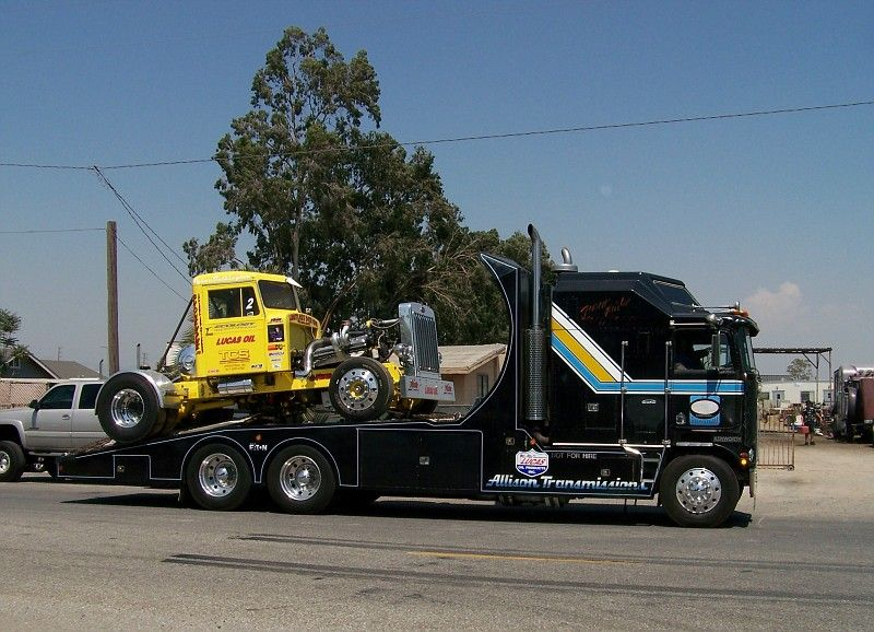 "Tyrone Malone Bandag Bandit ""Hideout"" Truck Original Untouched Photo"