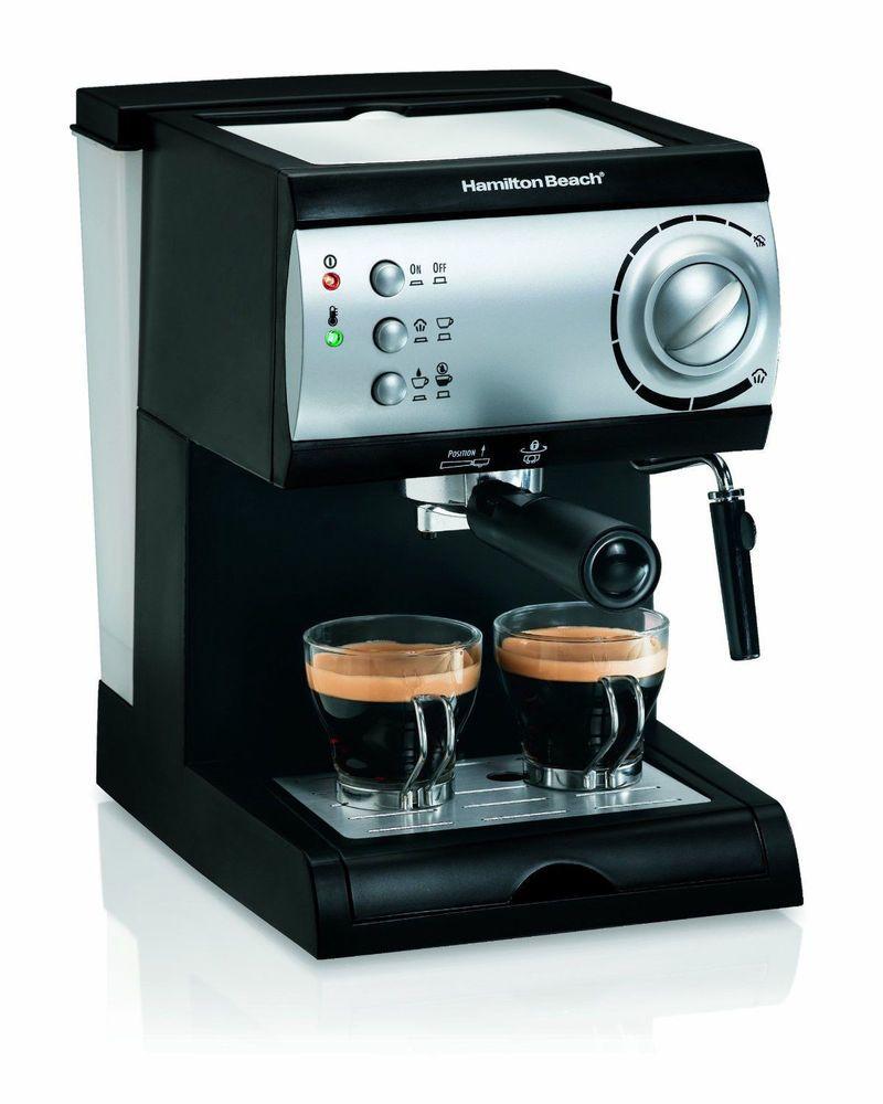 Automatic Espresso Cappuccino K Cup Maker Latte Mocha Coffee Machine Italian New #CoffeeMaker