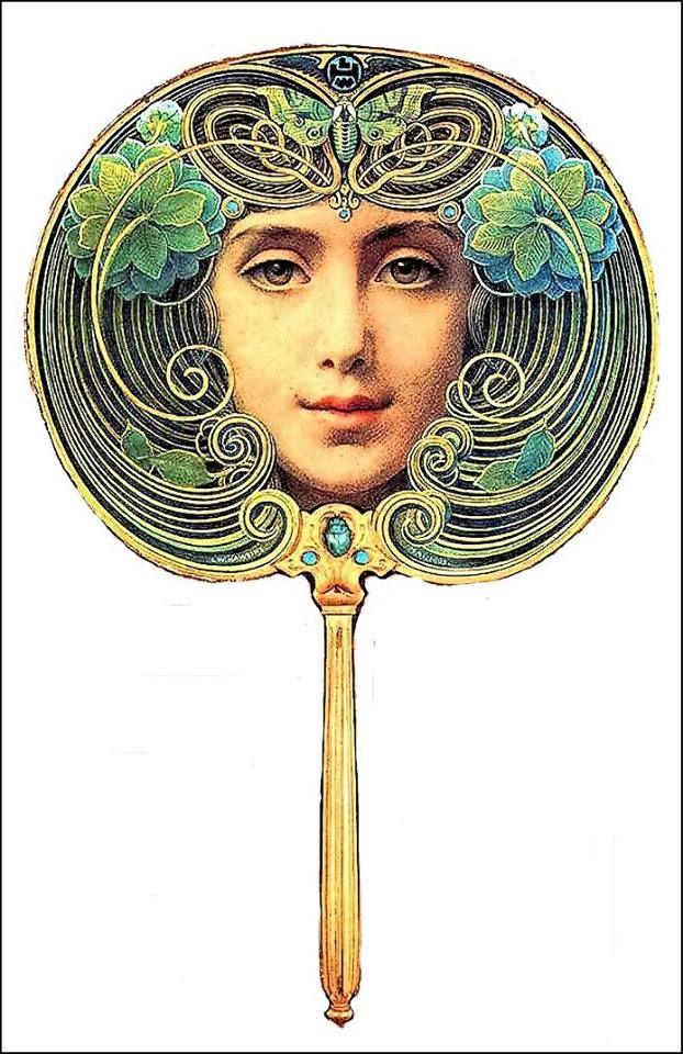 Art Nouveau Fan 2