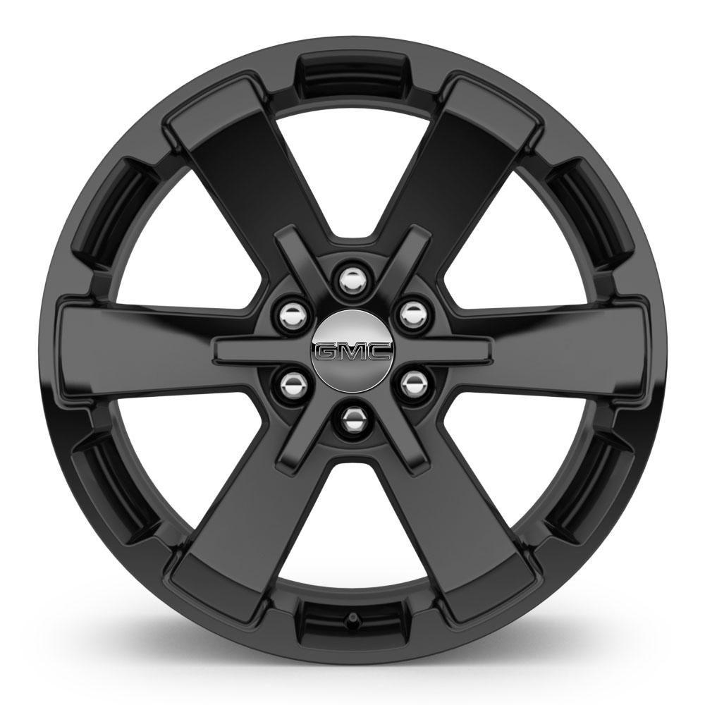 Sick Wheels For Yukon 22 Inch Wheel 6 Spoke High Gloss Black