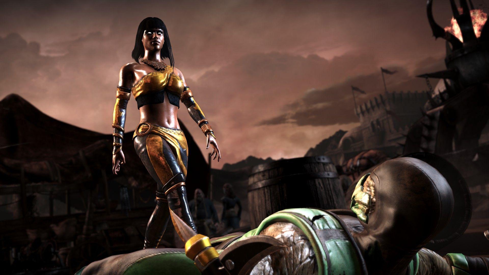 Tanya Dlc Fatality Screenshot Mortal Kombat X By The Nothing