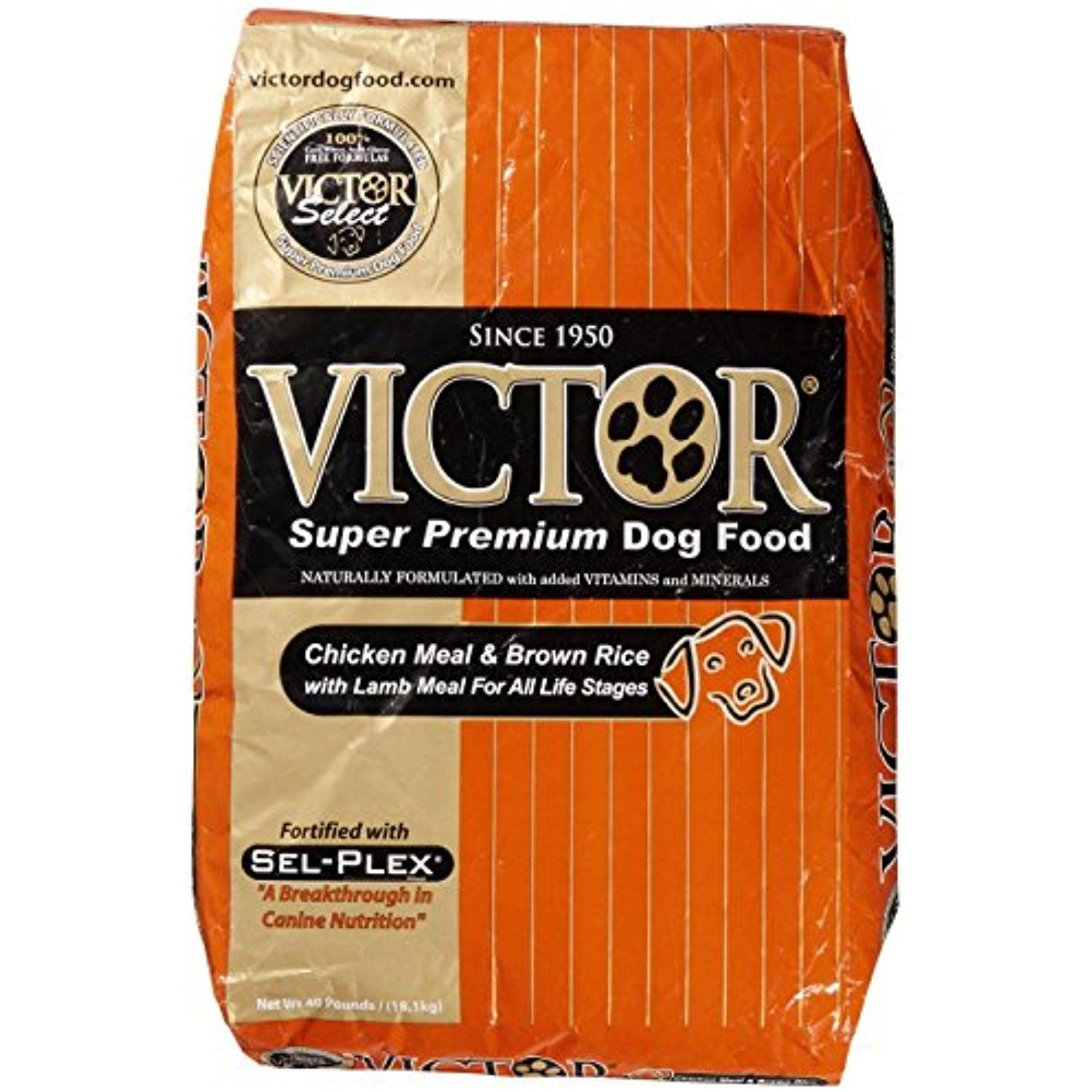 Victor Chicken Meal Brown Rice With Lamb Meal Dry Dog Food 40