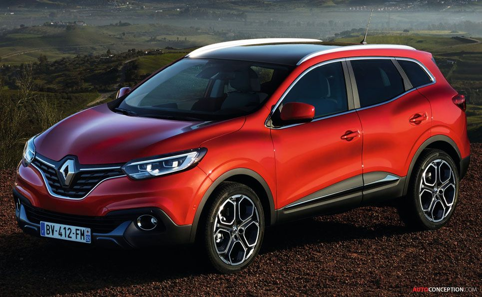 Renault Kadjar Crossover Revealed Autoconception Com Renault New Suv New Renault
