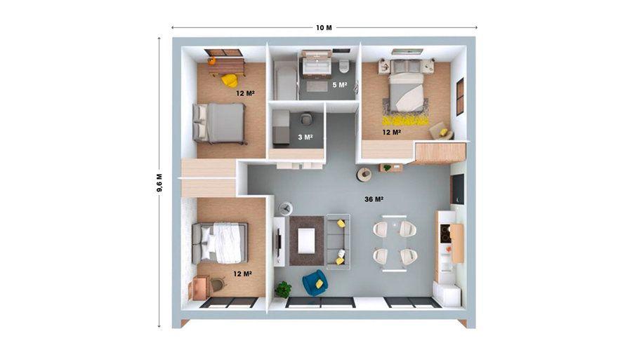 booa-maison-plan-look4 Architecture Pinterest Architecture