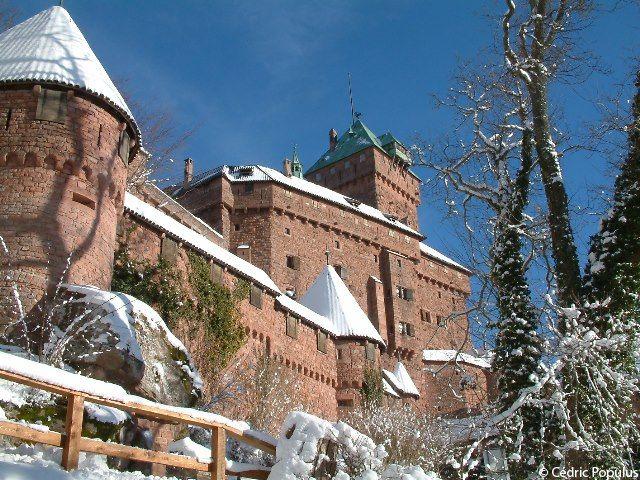 Le Celebre Chateau Du Haut Koenigsbourg Zamki I Palace