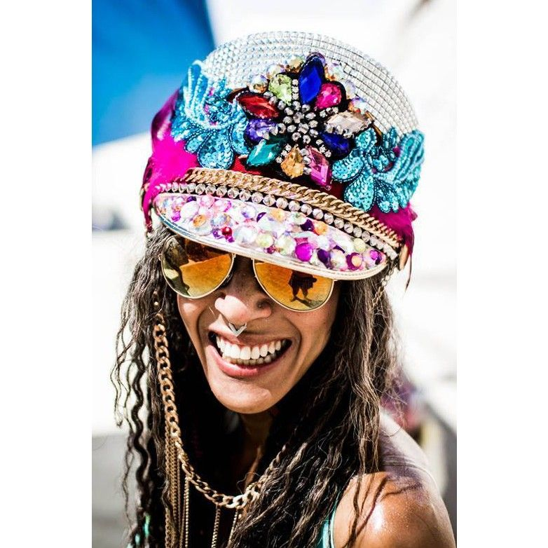 Captain Hat Carnaval Theme Party Military Navy Cap US Visor Cosplay Festival
