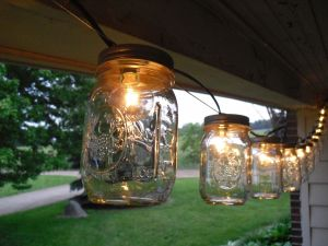 These Ball Jar String Lights Will Be A Welcome Addition To Any Garden Backyard Or Porch Turn Your E Into Summer Getaway