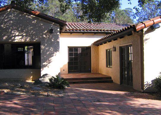 Santa Barbara California Before After Spanish Hacienda