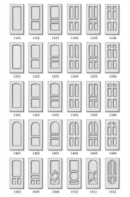 Types of door styles partition pinterest doors for What are the different types of interior design styles