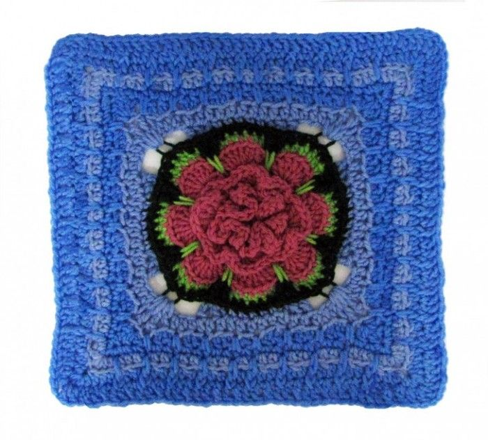 Block #16 in the 2015 Moogly Afghan CAL! FREE crochet patterns all ...