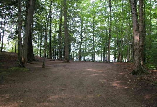 Petes Lake Rustic Campground- Located south of Munising in