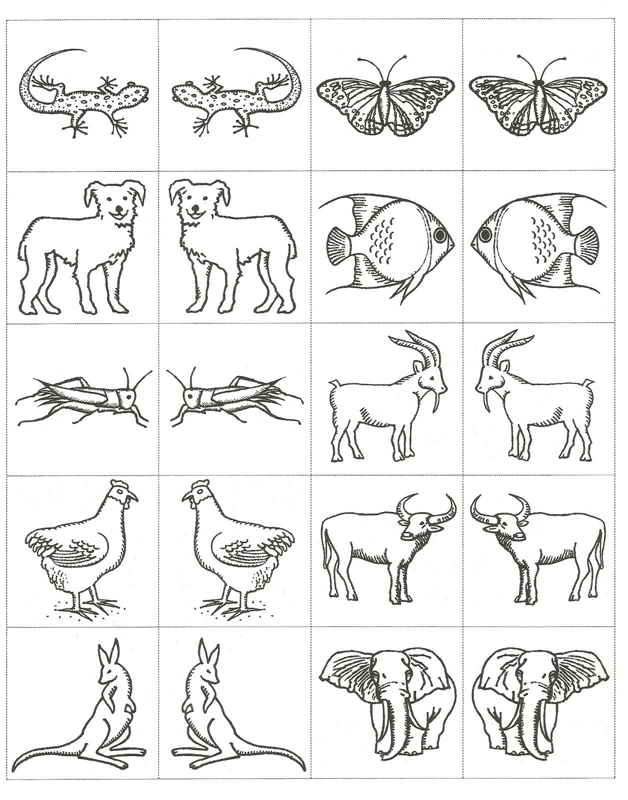 Noah Ark Animals Coloring Pages Pinterest • The World's