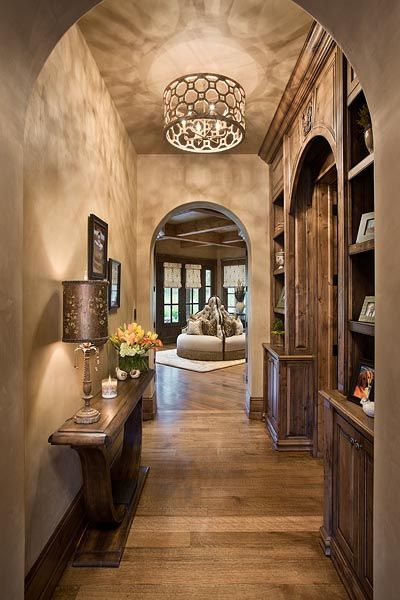 Chimney Rock Residence Passage Hall By Locati Architects Design Interiors Photography