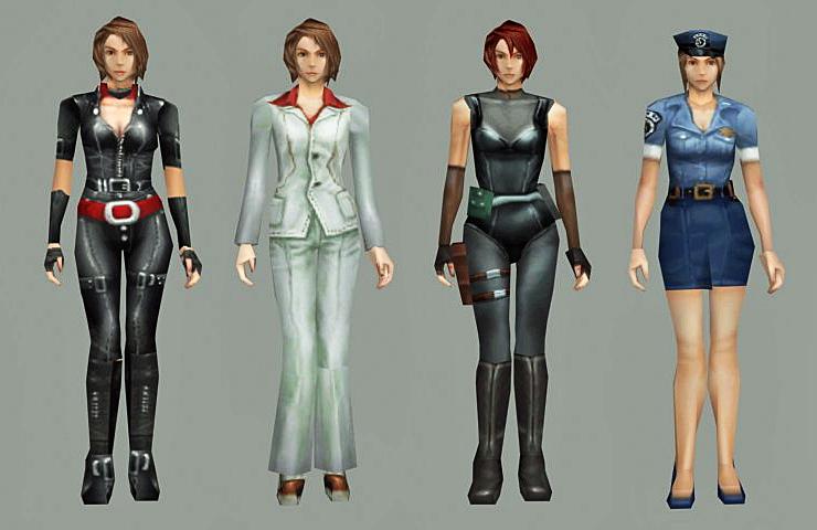 Jill Valentine Stars Outfit Hot Toys Re5 Jill Valentine Battle