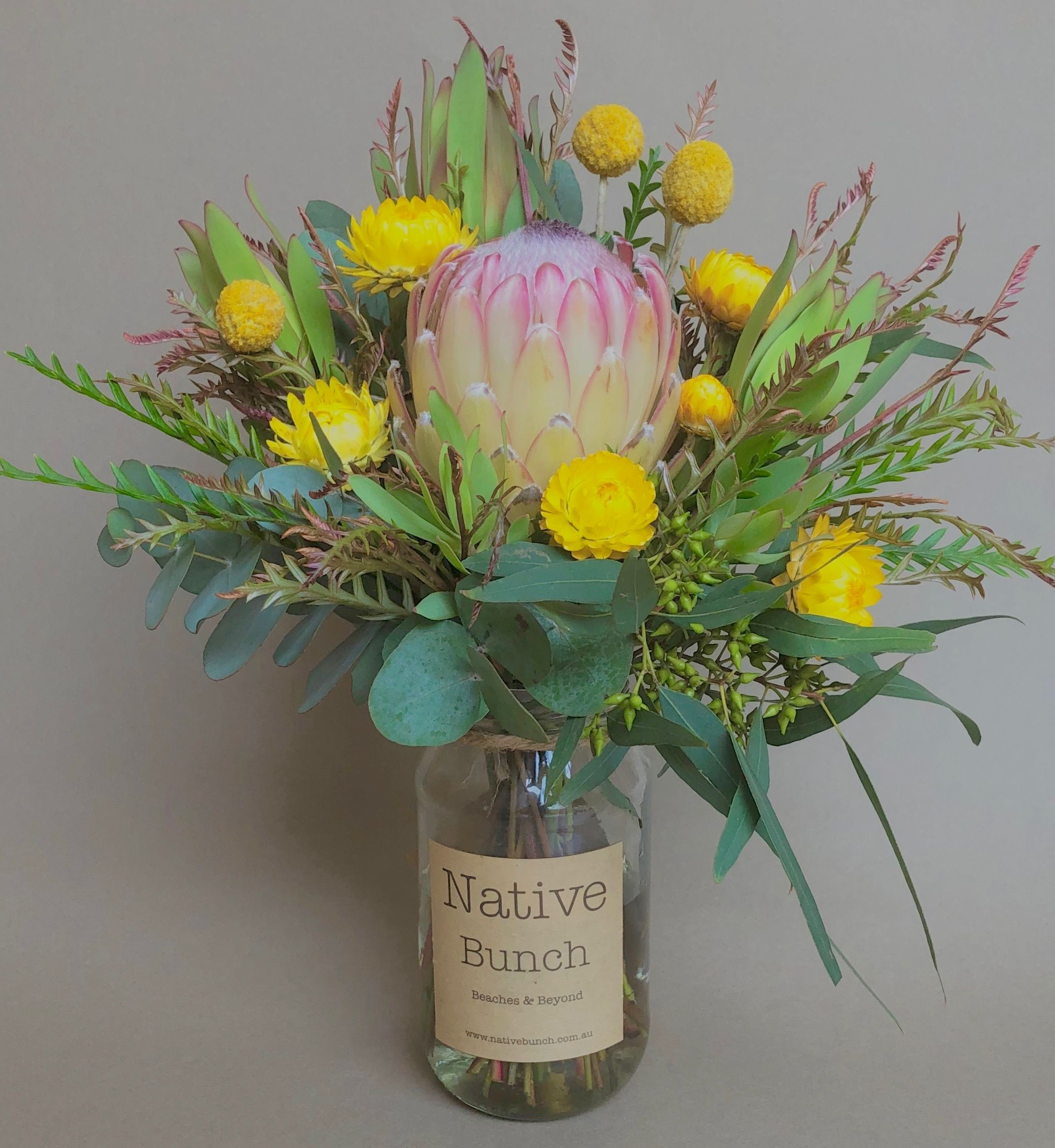 Native Flower Posy By Native Bunch Table Flower Arrangements Flower Delivery Flowers Delivered