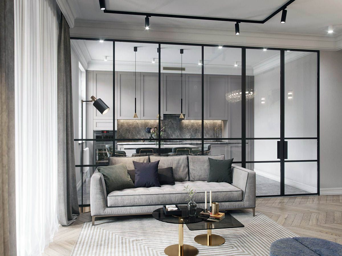 Extraordinary 1 Bedroom Apartments 89103 Just On Homesable Home Design Apartment Interior Apartment Design Modern Apartment Design