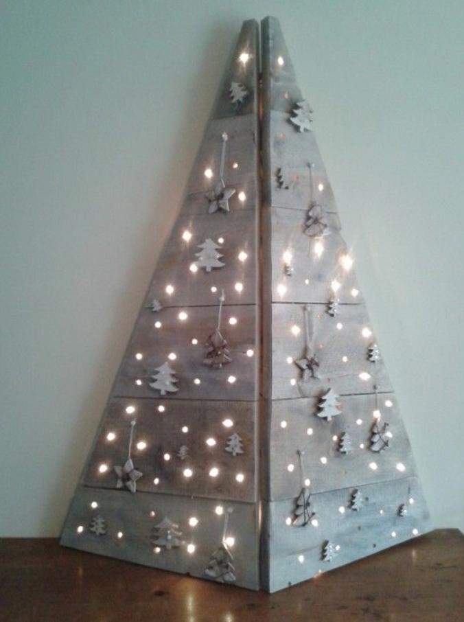 arboles de navidad muy originales para tu casa - Arboles De Navidad Originales