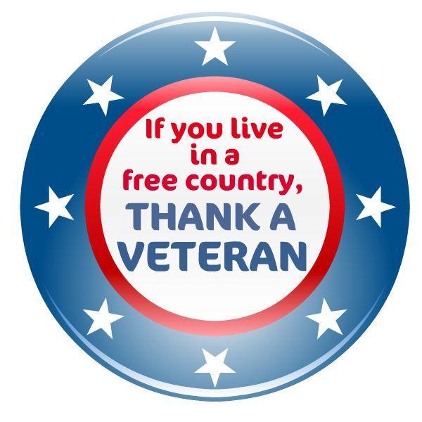 Free Patriotic Memorial Day and Veterans Day Clip Art