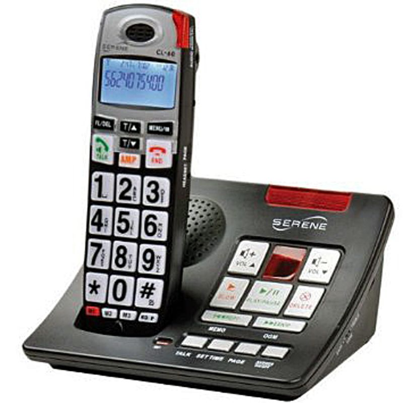 Amplified Phones For Hard Of Hearing Texas Cordless Phone Caller Id Cordless Telephone