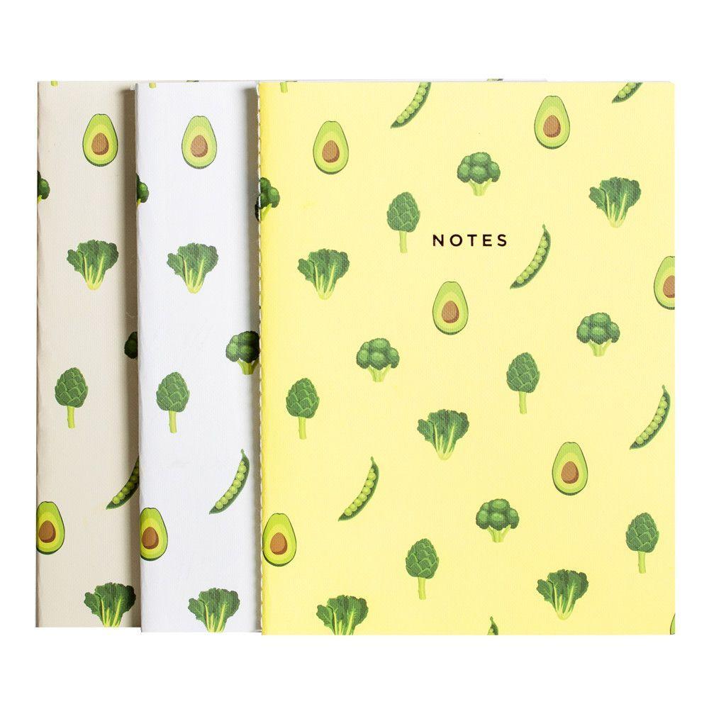 Green Veggies Notebook