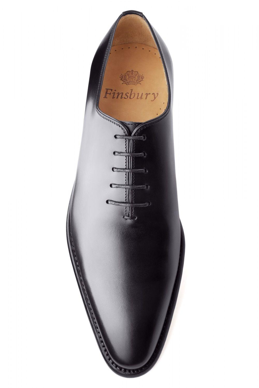 ceab931f41e458 Richelieu Giulia Noir Patiné pour Homme - Finsbury Shoes | Souliers ...
