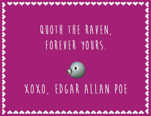 16 Hilarious Literary Valentineu0027s Day Cards