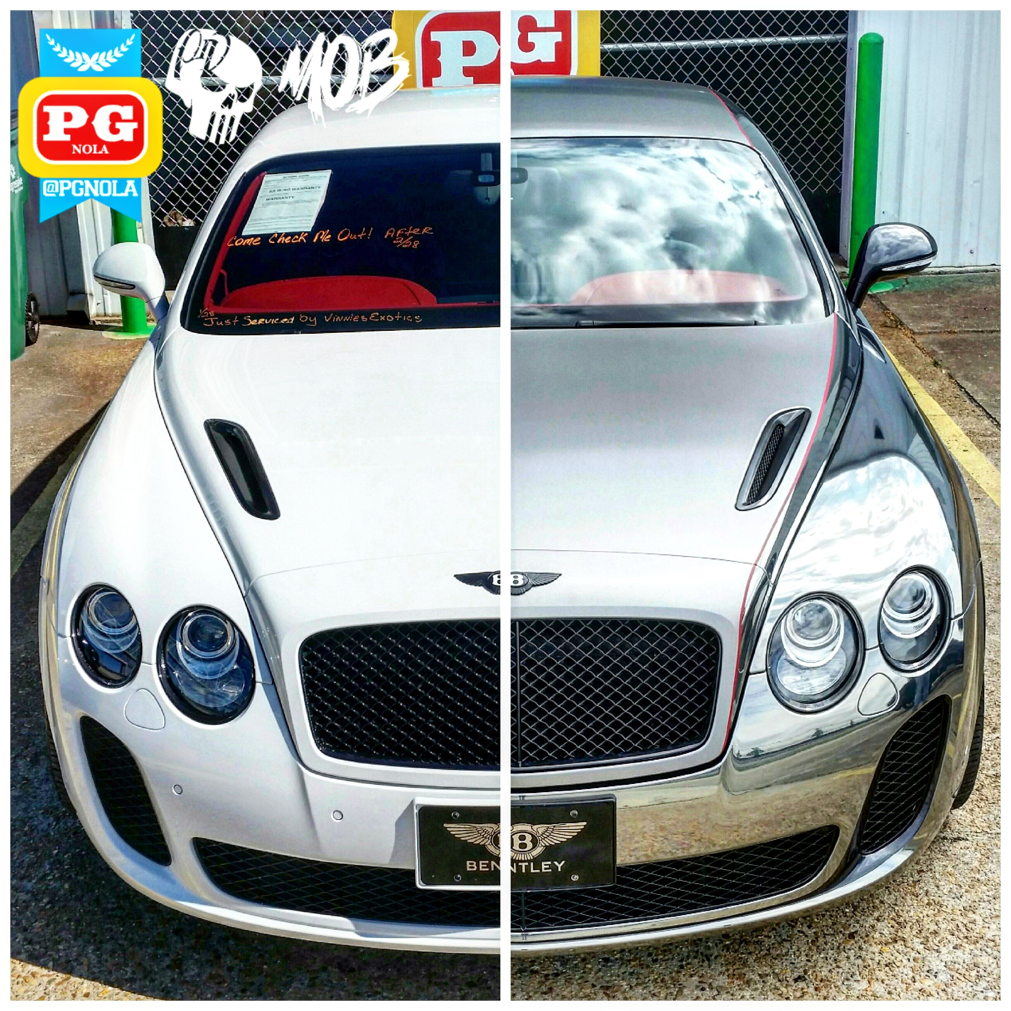 Bentley Continental Gt Convertible 1900 Gray For Sale: Bentley Continental GT Supersports Wrapped In Black Chrome