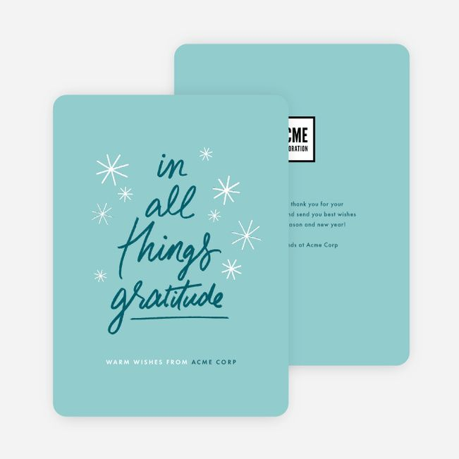 Corporate Holiday Cards, Holiday Cards