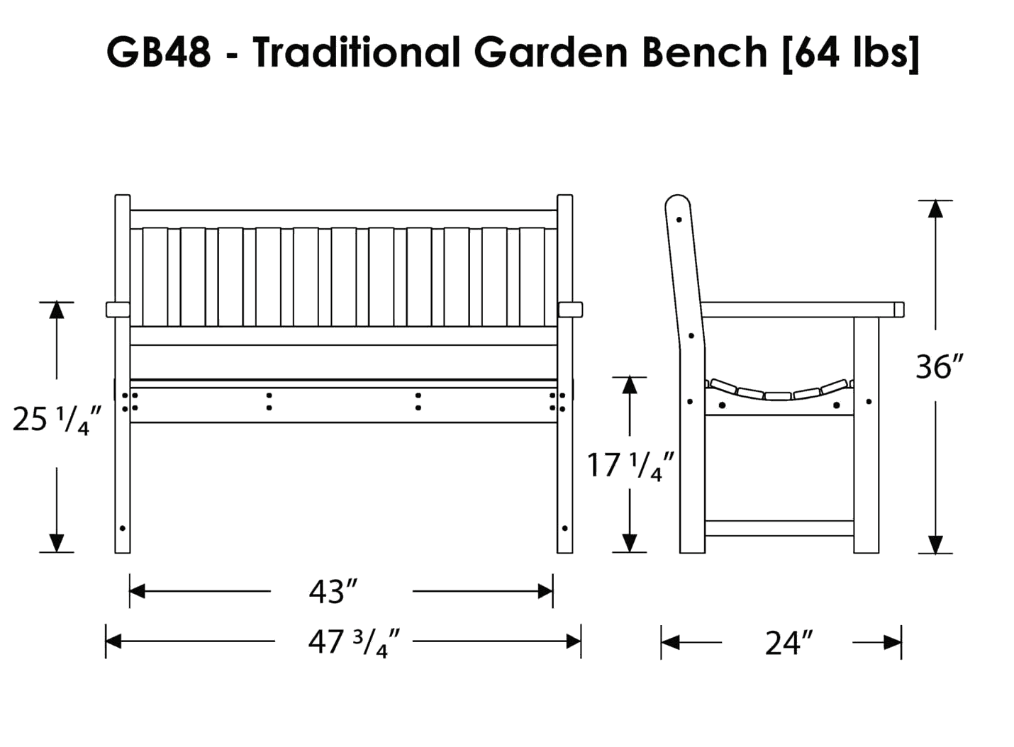 Garden Chair Dimensions Ideas 18000